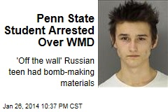 Penn State Student Arrested Over WMD