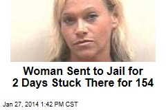 Woman Sent to Jail for 2 Days Stuck There for 154