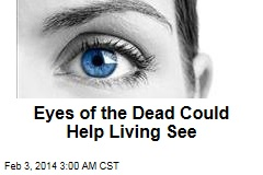 Eyes of the Dead Could Help Living See