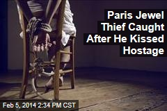 Paris Jewel Thief Caught After He Kissed Hostage