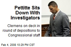 Pettitte Sits Down With Investigators