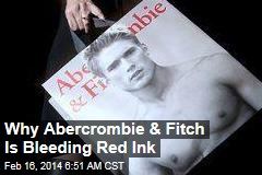 Why Abercrombie & Fitch Is Bleeding Red Ink