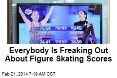 Everybody Is Freaking Out About Figure Skating Scores