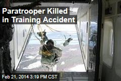 Paratrooper Killed in Training Accident