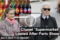 Chanel 'Supermarket' Looted After Paris Show