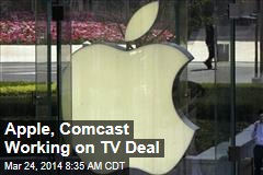 Apple, Comcast Working on TV Deal