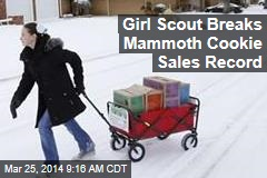Girl Scout Breaks Mammoth Cookie Sales Record