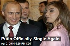 Putin Officially Single Again