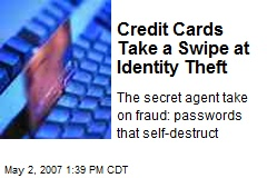 Credit Cards Take a Swipe at Identity Theft