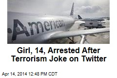 Girl, 14, Arrested After Terrorism Joke on Twitter