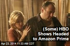 (Some) HBO Shows Headed to Amazon Prime
