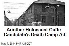 Would-Be Politician Uses Death Camp Image on Flier