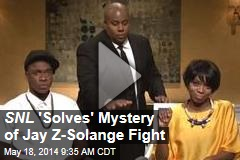 SNL 'Solves' Mystery of Jay Z-Solange Fight