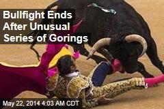 Bullfight Called Off After All 3 Matadors Gored