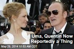 Uma, Quentin Now Reportedly a Thing