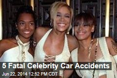 5 Fatal Celebrity Car Accidents