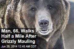Man, 66, Walks 900 Yards After Grizzly Mauling