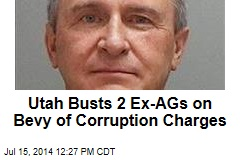 Utah Busts 2 Ex-AGs on Bevy of Corruption Charges