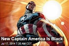 New Captain America Is Black