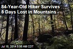 84-Year-Old Hiker Found Alive After 5-Day Search
