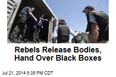 Rebels Release Bodies, Will Hand Over Black Boxes