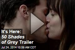 It's Here: 50 Shades of Grey Trailer