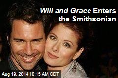 Will and Grace Enters the Smithsonian