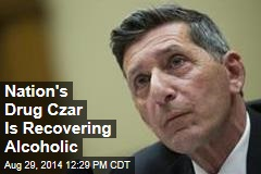 Nation's Drug Czar Is Recovering Alcoholic