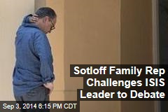 Sotloff Family Rep Challenges ISIS Leader to Debate