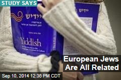 European Jews Are All Related