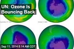UN: Ozone Is Bouncing Back
