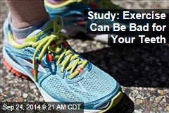 Study: Exercise Can Be Bad for Your Teeth