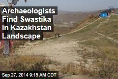 Archaeologists Find Swastika in Kazakhstan Landscape