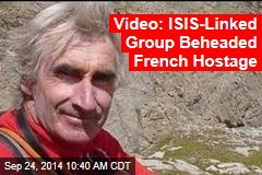 Video: ISIS-Linked Group Killed French Tourist