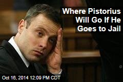Where Pistorius Will Go If He Goes to Jail