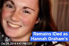 Remains IDed as Hannah Graham's