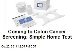 Coming to Colon Cancer Screening: Simple Home Test