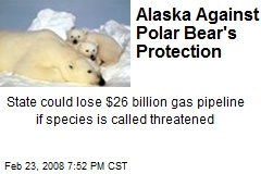 Alaska Against Polar Bear's Protection