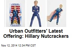 Urban Outfitters' Latest Offering: Hillary Nutcrackers