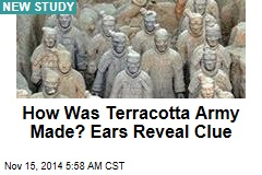 How the terracotta army may have been formed