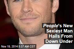 People 's New Sexiest Man Hails From Down Under