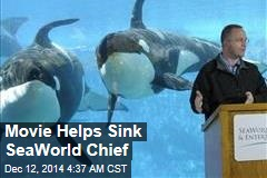 Movie Helps Sink SeaWorld Chief