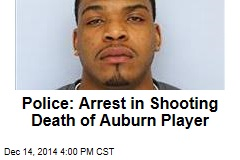 Police: Arrest in Shooting Death of Auburn Player