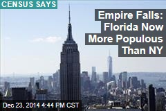 Empire Falls: Florida Now More Populous Than NY