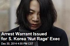 Arrest Warrant Issued for S. Korea 'Nut Rage' Exec