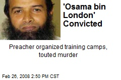 'Osama bin London' Convicted