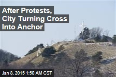After Protests, City Will Turn Cross Into Anchor