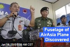 Fuselage of AirAsia Plane Discovered