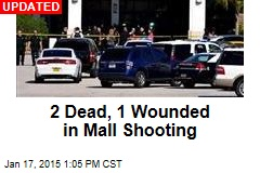 1 Dead, 2 Wounded in Mall Shooting