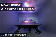 Guy Spent 20 Years Gathering Air Force UFO Files